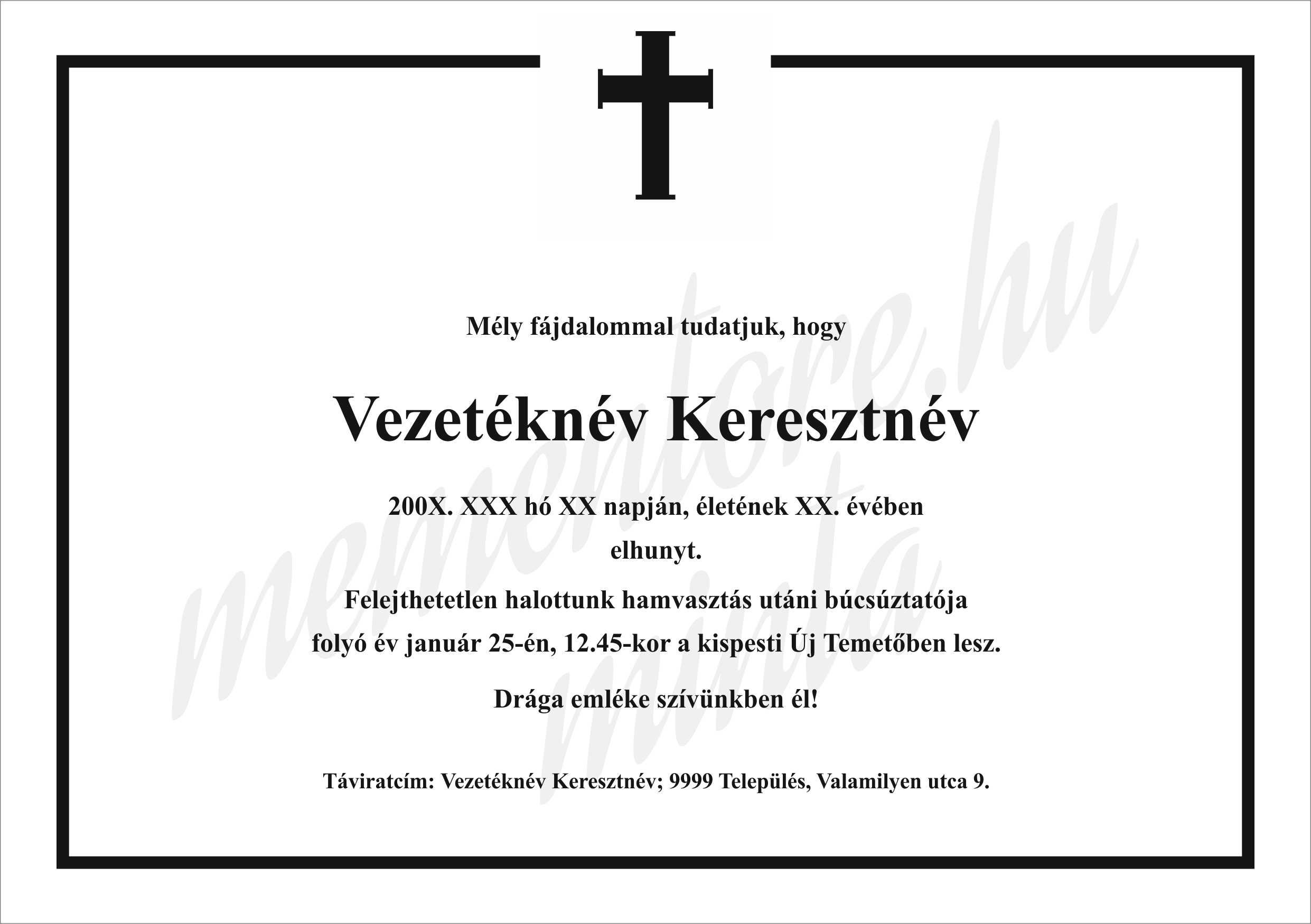 Gyaszertesito_A5016_talpaskereszt-katolikus
