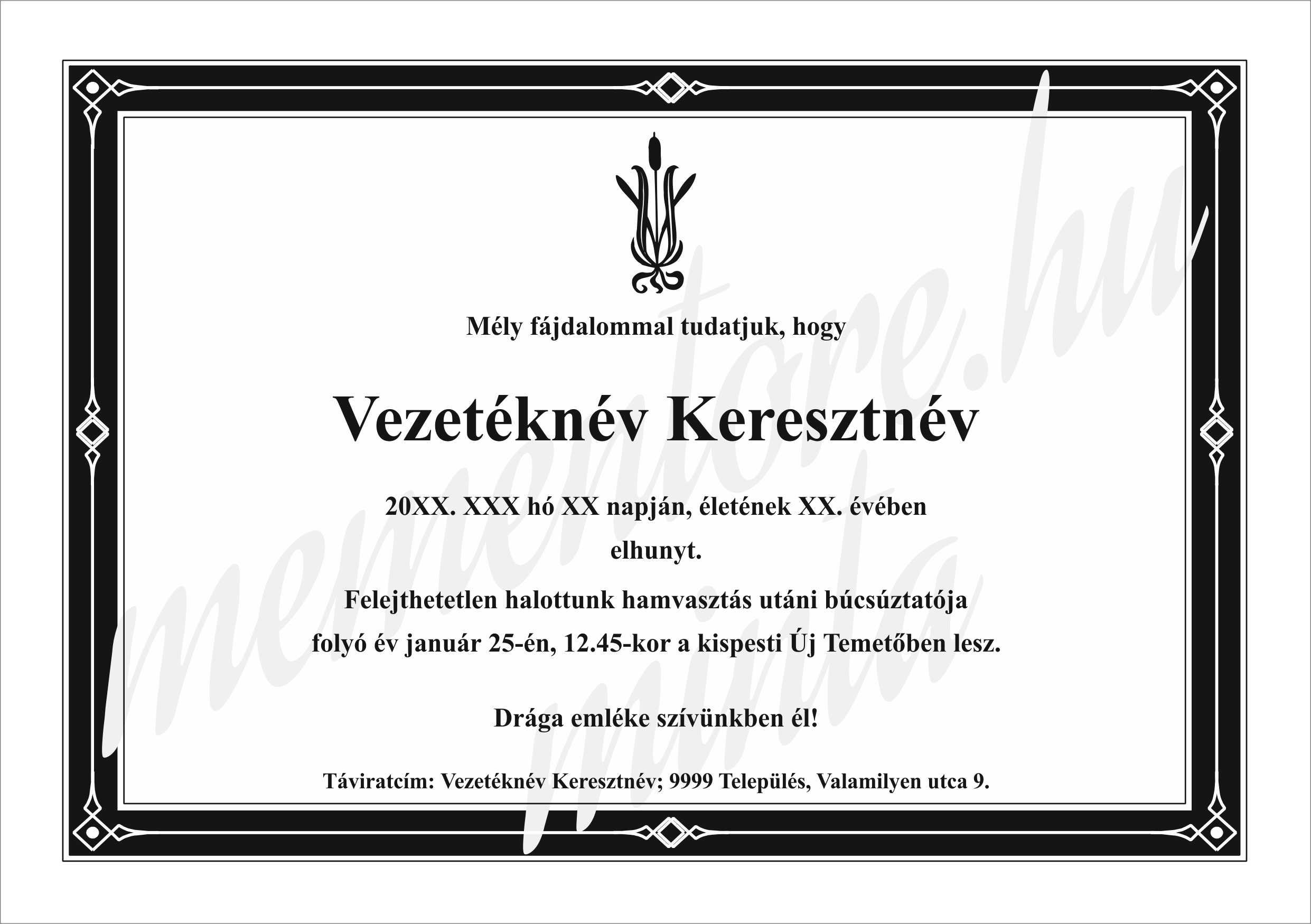 Gyaszertesito_A5021_nadszal_miveskeret