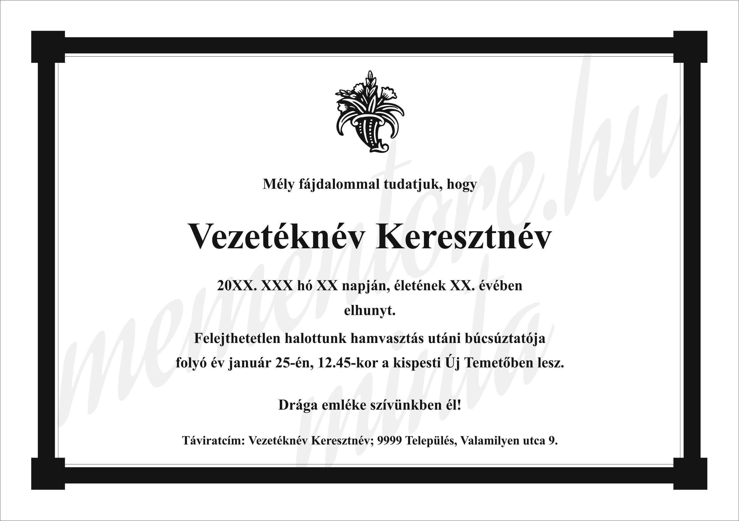 Gyaszertesito_A5026_sarkoskeret_viragszaru